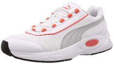 Cooler Nucleus Sneaker Unisex Schuh für Erwachsene (Weiß Puma White High Rise Hot Coral Puma Black 08).   Schöner Freizeitschuh für Männer, Frauen, Damen & Herren dir gerne bequeme und leichte Schuhe tragen. Egal ob für den Alltag oder die Arbeit, die Sneakers kann man überall tragen.   #Sneaker #Sneakers #Unisex #Schuh #Schuhe #Freizeitschuh #Halbschuh #Turnschuh #Freizeitschuhe #Turnschuhe #Halbschuhe #Sommerschuhe #Sommerschuh Unisex, Puma, Bling, Hot, Sneakers, Fashion, Loafers, Trainer Shoes, Handbags