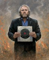 Andrew Breitbart - No Fear 16X20 Giclee Canvas Signed