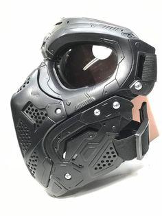 Steel Trusses, Carapace, Paintball Guns, Tactical Clothing, Skull Mask, Cool Masks, Body Armor, Plastic Models, Helmets