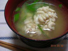 Cod+Milt+(shirako+or+tachi)+Miso+Soup+-+Including+how+to+prep+the+milt