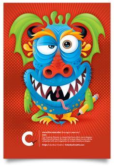 glitschka studios | illustrative designer : Creative Monster