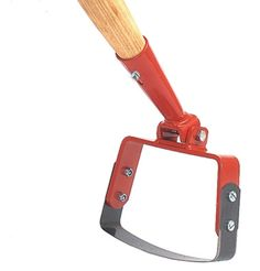 """5"""" Stirrup hoe makes weeding faster by cutting roots in the soil"""