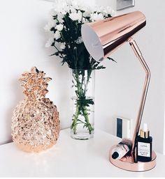 Copper lamp - homebase