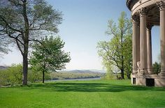 Vanderbuilt Mansion over looking the Hudson river....Home sweet home...I love this place