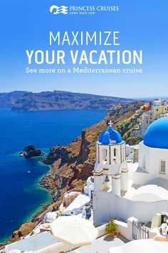 There's so much to discover in the Mediterranean. Cruise the wonders of the world with stops in destinations like Athens, Rome, Barcelona, and Florence. Plan your next great adventure with Princess.
