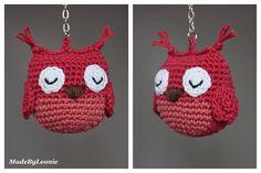 MadeByLeonie: Owl  (Link to pattern)