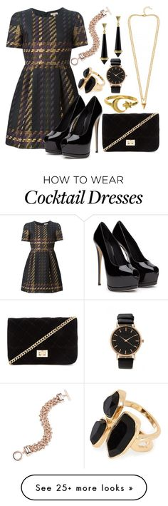 """""""Untitled #1224"""" by milesofsmiles12345 on Polyvore featuring moda, Anne Klein, P.A.R.O.S.H., Forever 21, River Island e House of Harlow 1960"""