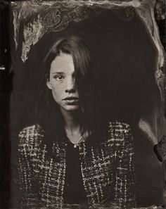 Sundance 2014 Old-Fashioned Portraits - Sundance 2014 Victoria Will Tintypes -Astrid Berges Frisbey Vanity Fair, Astrid Berges Frisbey, Wet Plate Collodion, Tintype Photos, Victoria, Sundance Film Festival, Culture, Portrait Inspiration, Hollywood Stars