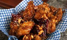 Crispy crunchy fried chicken (Dakgangjeong)
