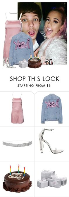 """""""Louis' birthday party with him and Lottie"""" by fxrever-isnt-for-everyone ❤ liked on Polyvore featuring GET LOST, Oh My Love, Forte Couture, Alexander Wang, We Take the Cake, Laura Geller, louistomlinson and LottieTomlinson"""