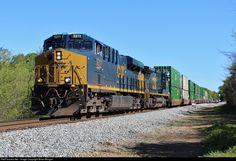 Csx Transportation, Aragon, Trains, Georgia, Train