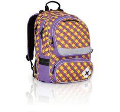 9f330e0a88674 Plecak szkolny od 1 do 5 klasy dla niebanalnej dziewczyny. Plecak posiada  wyszywany moty kwiatka