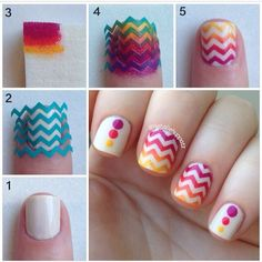 Perfect summer nails!