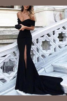 vestido largo para la noche
