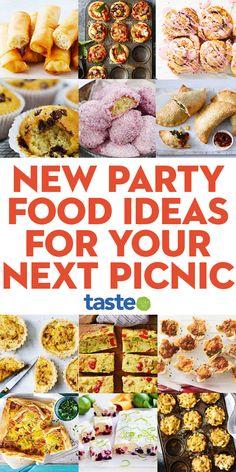 Picnic Finger Foods, Picnic Snacks, Cold Picnic Foods, Best Picnic Food, Best Party Food, Easter Dinner Recipes, Easter Desserts, Easter Treats, Food Tasting