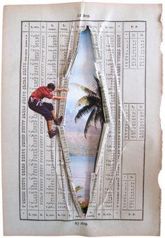 Paper Mountain Climbers – By Erwan Soyer