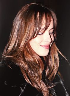 rubin-extensions.com | beautiful dakota johnson | long hair | brown hair
