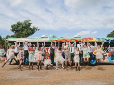 The Big Love Bus Offers Quirky Wedding Day Transportation | Nashville Wedding Guide for Brides, Grooms - Ashley's Bride Guide