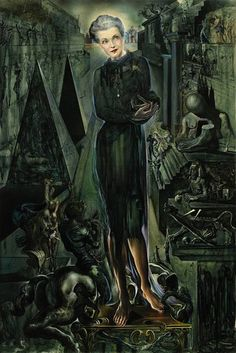 Countess Mona von Bismarck - Dali, 1943