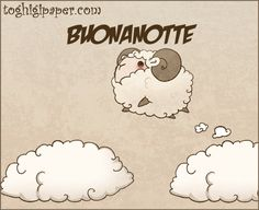 Gif buonanotte ⋆ Toghigi♥Paper Day For Night, Good Night, Animals Beautiful, Animated Gif, Sheep, Snoopy, 1, Animation, Fictional Characters