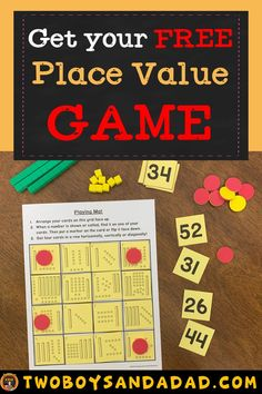 Whether you're teaching place value to kindergarteners, or graders, there are some important and critical points you should know. Do I use pre-grouped or ungrouped manipulatives? What place value activities should be done? What's the progression in Teaching Place Values, Learning Place, Teaching Numbers, Teaching Math, Place Value Math Games, 3rd Grade Math, Third Grade, Math Strategies, Math Tips