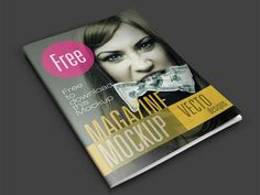Best Free Magazine and Book Cover PSD Mockup Templates 2019 Magazine Cover Template, Free Psd Flyer Templates, Free Magazines, Graphic Design Templates, Presentation Design, Maternity Photography, Photography Poses, Layout Design, Web Design