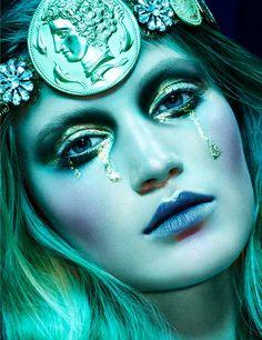 W Magazine Maio 2014 |  Guinevere Van Seenus, Svetlana Z, Daiane C, Sonya G, Jenna Klein e Carly Moore  [Beauty]