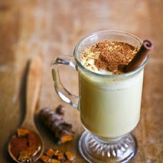 Golden Milk by herbalacademy:  A traditional Ayurvedic concoction made with turmeric this warm drink is delicious in the winter. #Milk #Golden #Turmeric