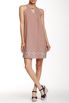 Sleeveless Printed Dress by Peach Love California on @HauteLook