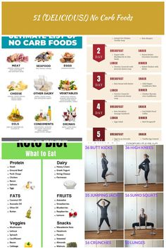 *NEW* Here's a printable shopping list of no carb foods to incorporate into your recipes and meal plan!) No Carb Foods Vegetable Lunch, Printable Shopping List, Lunch Smoothie, No Carb Recipes, Tortilla Soup, Breakfast Snacks, Diet Meal Plans, Meal Planning, Seafood