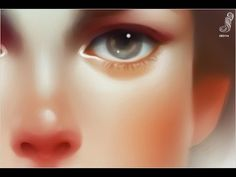 Digital painting process - Pas Claire - Paint Tool Sai - YouTube ★ Find more at http://www.pinterest.com/competing/