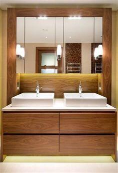 double vasque et meuble