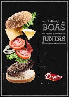 Posters Cheppitos by Raphael Nogueira, via Behance