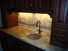 Come visit us at Triangle Tile & Stone  #kitchen #backsplash