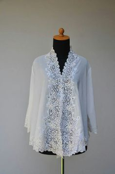 Kebaya encim off white