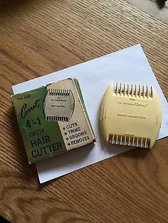 Vintage Comet Safety Hair Cutter - remember cutting your own 'feather cut' with these! Oh, dear!