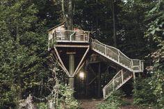 Een vakantieresort waar je slaapt in.. een boomhut! - Roomed | roomed.nl