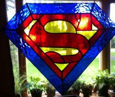Superman glass