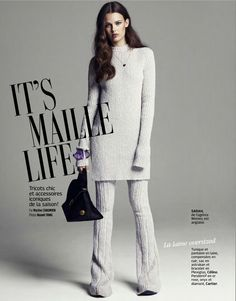 visual optimism; fashion editorials, shows, campaigns & more!: it's maille life: sarah dick by naomi yang for grazia france 19th september 2014