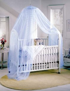 Crib Netting Able Baby Bed Mosquito Net Kids Bedding Round Dome Hanging Bed Canopy Curtain Chlildren Baby Room Decoration Crib Netting Tent Agreeable To Taste