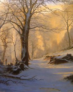 Quality signed fine art and giclee prints of seascapes and landscapes prints by cornwall based art teacher/tutor Alan Kingwell Winter Landscape, Landscape Art, Landscape Paintings, Landscape Photography, Nature Photography, Christmas Landscape, Travel Photography, Painting Snow, Winter Painting