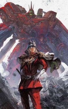 Image from the Gundam Art Collection Char Aznable - The Red Comet 4 Gundam 00, Arte Gundam, Gundam Wing, Gundam Toys, Robot Manga, Anime Mech, Mecha Suit, Gundam Wallpapers, Gundam Mobile Suit
