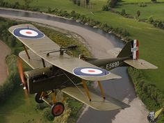 Modern flying reproductions of WWI aircraft, Masterton New Zealand SE5A2.jpg