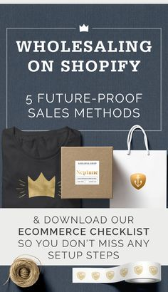 The pros and cons of five methods of selling wholesale on Shopify.
