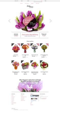 Flowers PrestaShop Template http://www.templatemonster.com/prestashop-themes/responsive-prestashop-theme-58383.html