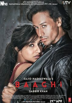 Baaghi 2016 Hindi DVDScr x264 Audio Cleaned 700mb | Movies