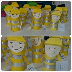 Crafts,Actvities and Worksheets for Preschool,Toddler and Kindergarten.Lots of worksheets and coloring pages. Fireman Crafts, Firefighter Crafts, Police Crafts, Toddler Crafts, Crafts For Kids, Community Helpers Crafts, Safety Crafts, Paper Towel Crafts, Rainbow Cartoon