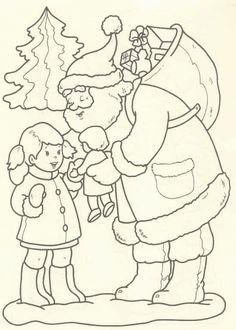 printable santa and reindeer coloring page  christmas coloring   girl scouts  christmas