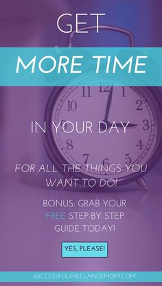 Need more in your day to build your business?These tips can help you figure out where your time is going, and how to use it more effectively. You can stay home with your kids and earn money, but you need to know how to use your time and plan your days. Critical Mind, Personal Achievements, Freelance Writing Jobs, Planning Your Day, Time Management Tips, Work From Home Moms, Working Moms, Career Advice, How To Stay Motivated