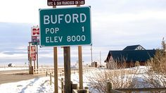 PHOTO: Buford, Wyoming- population 1, will be auctioned at noon April 5, 2012.